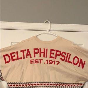 Delta Phi Epsilon Sorority Holiday Spirit Jersey